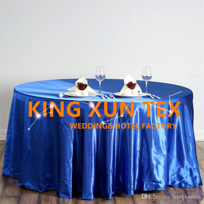 Nice Looking Satin Table Cloth \ Cheap Wedding Tablecloth For Event Party Decoration Free To Door Shipping