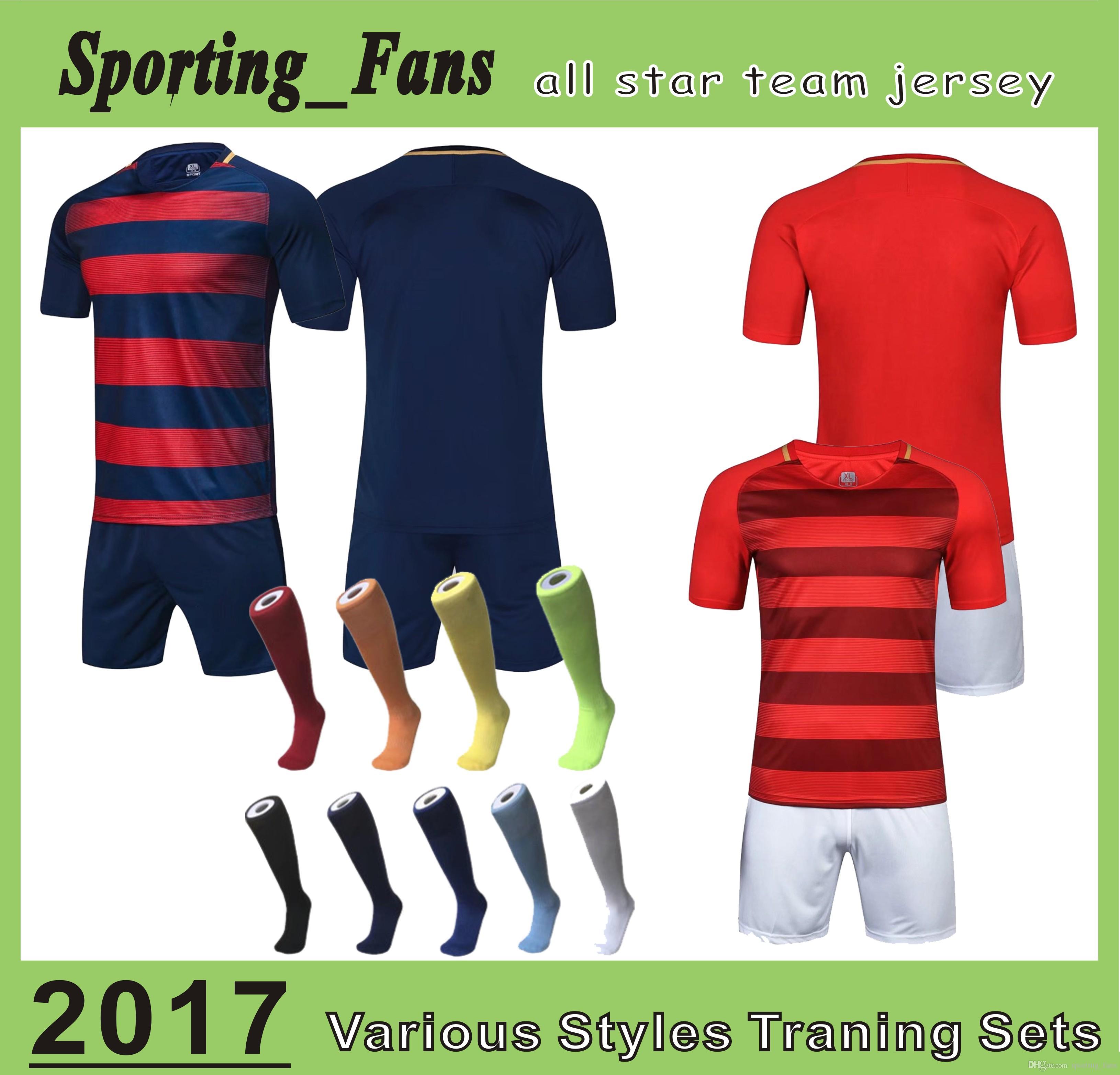 B807 1610 Soccer Training Jerseys,football Sets,soccer Uniforms! DIY ...