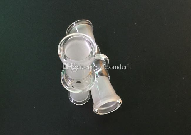 Оптовая стекло кальян чаша адаптер 14-18 мм стекло адаптер совместное стекло Бонг Бесплатная доставка