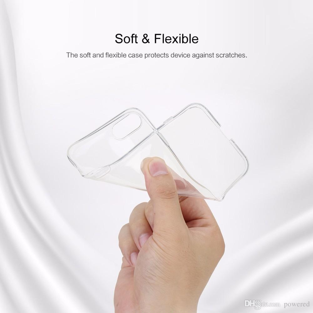 Ultrathin TPU Yumuşak Kılıf iphone 8 7/7 artı 6/6 s 0.6mm Marka Telefon Kapak Için iPhone8 Şeffaf Ince Arka Durumda Samsung S8 mix Model