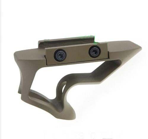 Tactical Unmarking Version SHIFT 짧은 각진 그립 알루미늄 20mm 포어 립 포어 그립 Airsoft