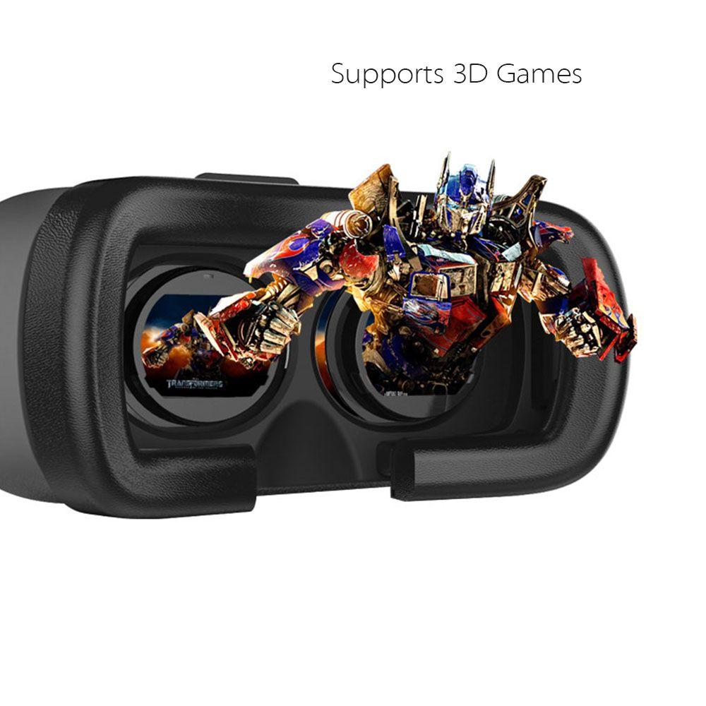원래 가상 현실 3D VR 안경 휴대 전화를위한 6 인치 게임에 4inch Google 골판지 상자 I 1.0 HD 광학 수지 렌즈