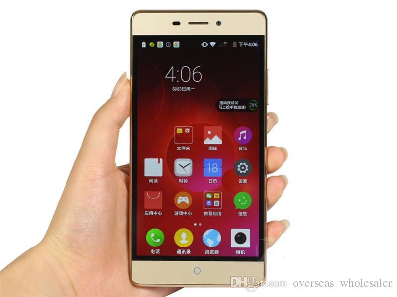 Unlocked Original ZTE Weiwu 3 4G LTE Mobile Phone Snapdragon 615 Octa Core 2GB RAM 16GB ROM 5.5inch 13.0MP Fingerprint OTG Smart Cell Phone