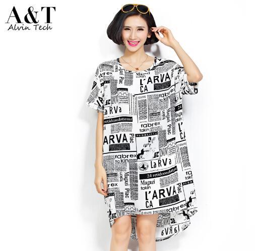 Newspaper dress plus size