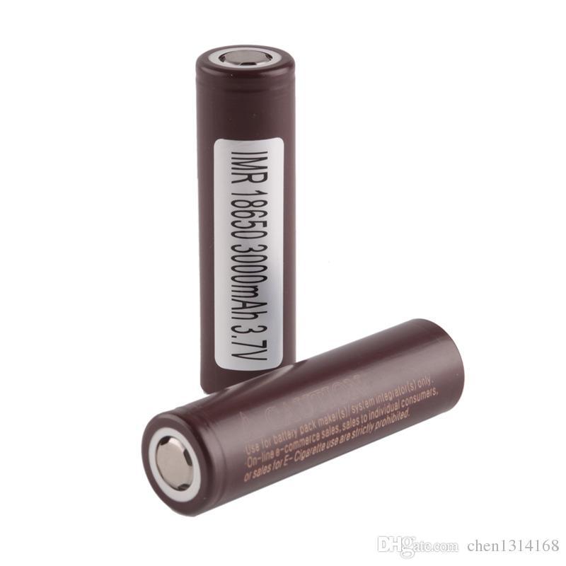 100% Высокое Качество HG2 18650 Батарея 3000 мАч 35А МАКС. Аккумуляторная Литиевая Батарея Для LG Cell Fit Vape box мод 0269006-1