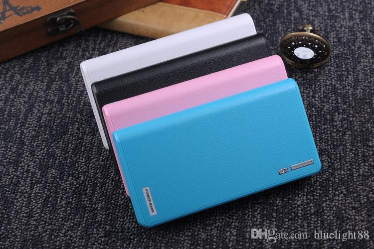 20000mAh Power Bank 2 USB Port Charger External Backup Battery With Retail Box For Mobile Phone