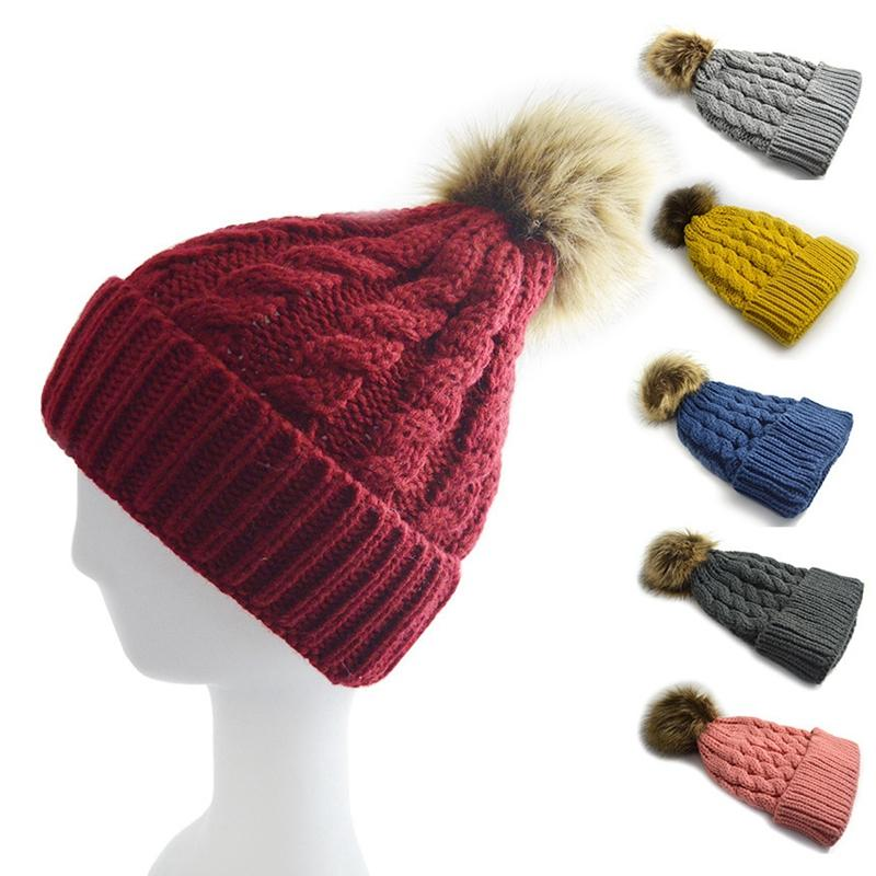 Fashion Candy Colors Mom Or Baby Knitting Keep Warm Hat Women Winter Hat  Family Matching Outfits Mom Baby Hats Fedora Hat Baseball Caps From  Jackliu07 081aae2dc0b9