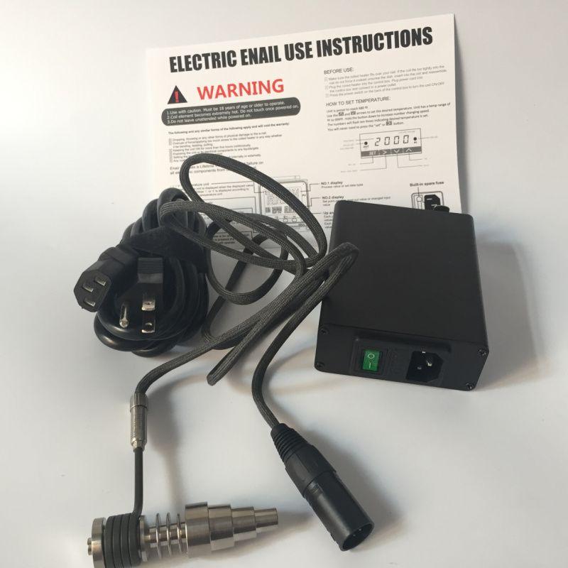 Digital Electronic DNail Tupfen-Nagel-Titan-Nagel-domeless Nagel-Nagel E-Nagel D-Nagel-WACHS-Zerstäuber-trockenes getrocknetes Kräuter