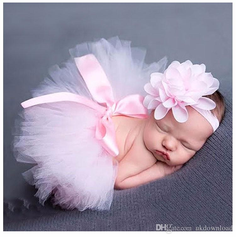 2018 super cutesoft adorable newborn baby girls clothes skirt set baby hat baby cap newborn photography props for 0 3 month from ukdownload