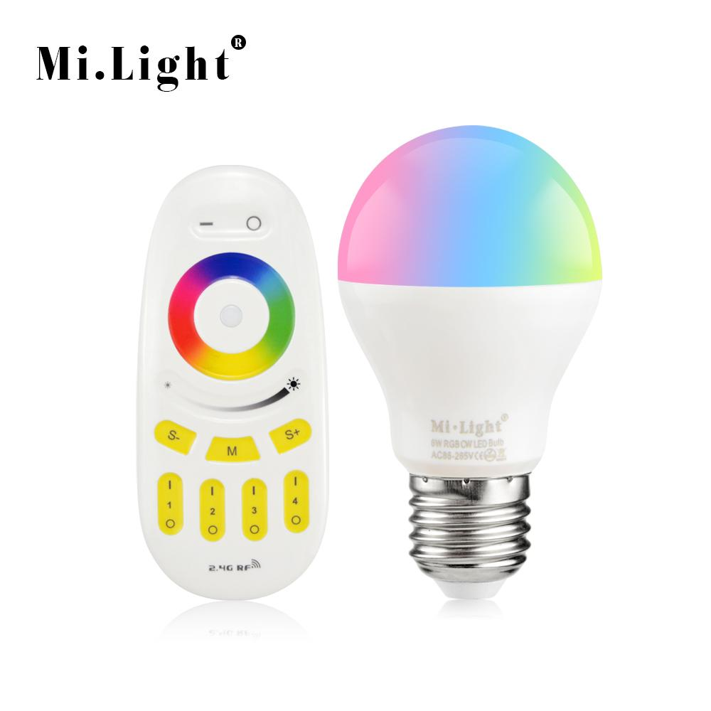 Rf 4g Bulb Remote Original Rgb Control Lighting 6w Smart Rgbw 110v Night E27 Rgbww 2 Led Light 220v Mi Wholesale Lamp Wireless 1pcs k0wnPOX8