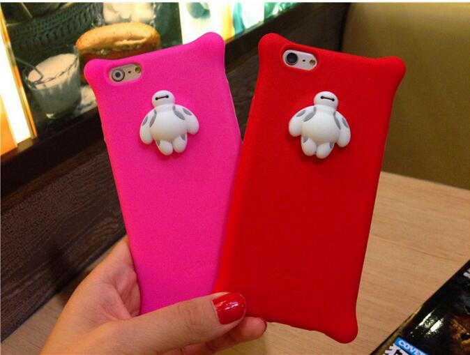 2016 Korean Bubble bones TPU Soft Silicone Rubber Case Cover for Iphone 5 6S 6 Plus Mix Colors DHL free shipping