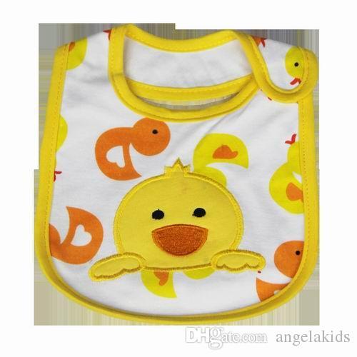 Baby Lätzchen Baumwolle Wasserdichte Schürzen Kinder Speichel Cartoon Handtuch Kinder Rülpsen Schürze Infant Handtuch Lätzchen Spucktücher