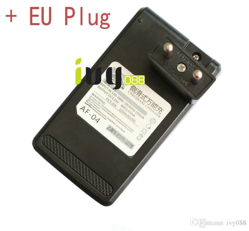 / Universal-USB-Wand-Ladegerät Spielraum-Desktop-Sitz-Dock-Telefon-Ladegerät + EU-Stecker für Samsung Huawei HTC Fahrwerk Sony Nokia Batterien