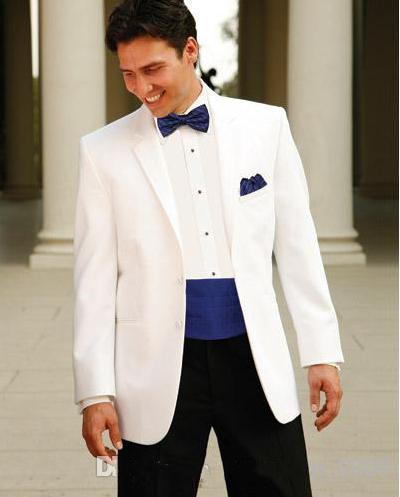 Tuxedos Groom meilleur homme costume de mariage Groomsman Marié costumes convient à la mode le marié costumes hommes costumes de mariage veste + pantalon + cravate + ceinture