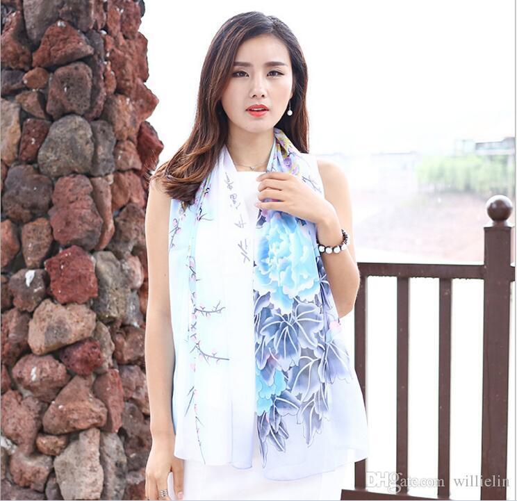 2017 새로운 한국어 나비시 폰 소녀 에어컨과 실크 스카프를 착용