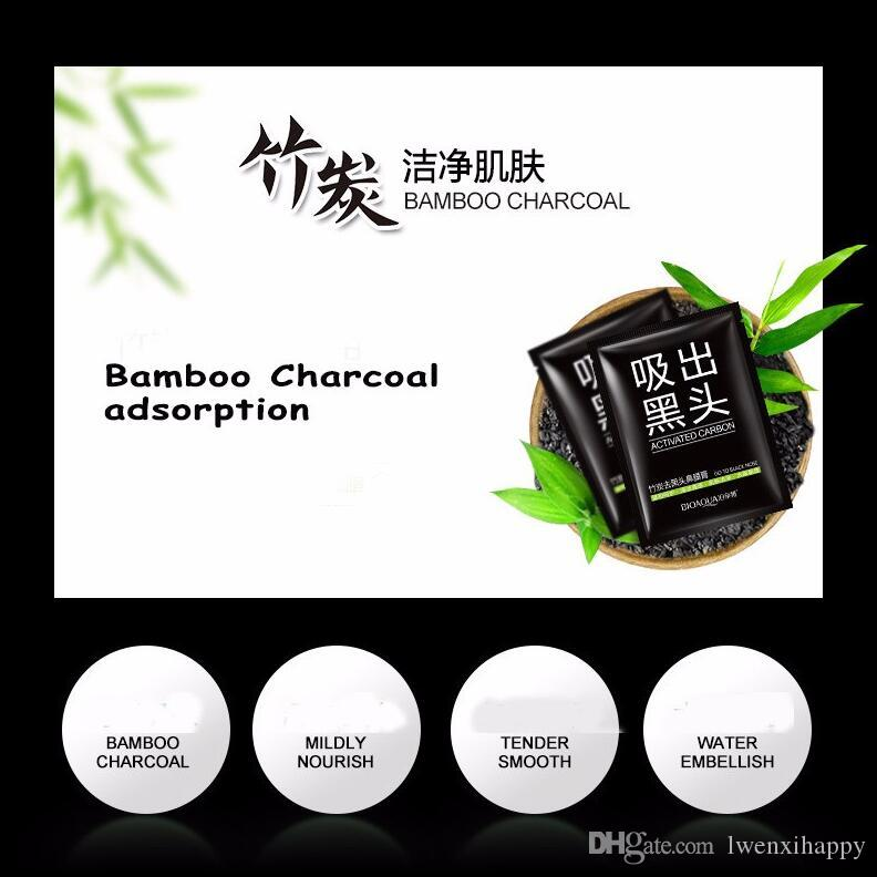 Face Care Black Bamboo charcoal Cleansing Suction Mask Peel Off Facial Mask Nose Blackhead Remover Acne Treatments Face Care Cream