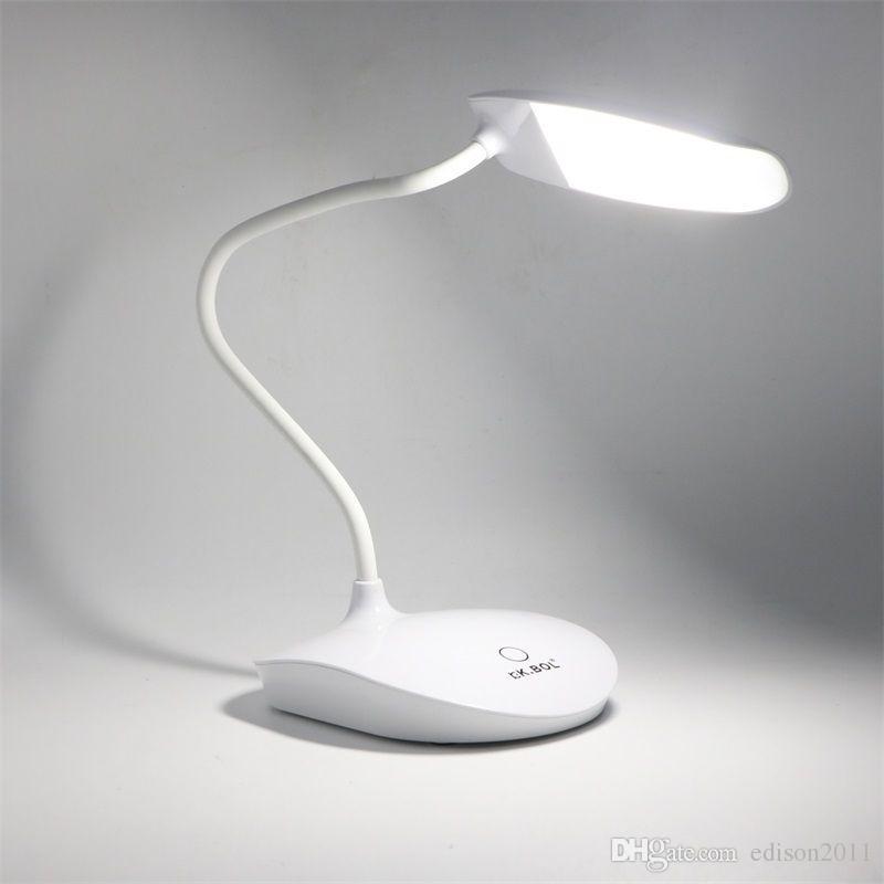 Edison2011 30 Leds Solar/USB Rechargeable Light Touch Sensor LEDS Desk Reading Light Camping Lamp Table Lamps