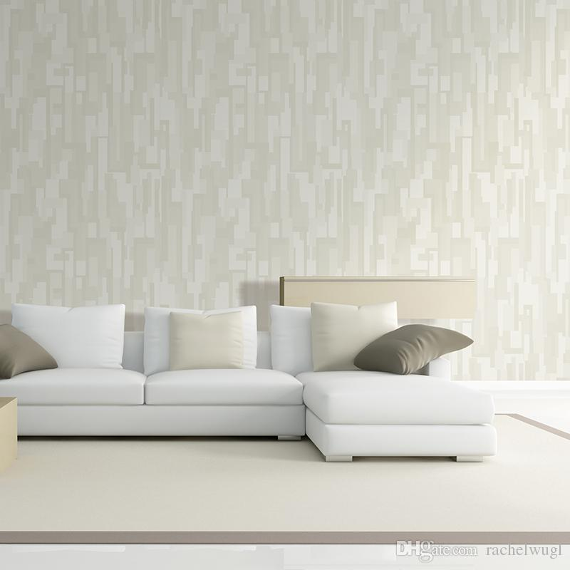 Deep Embossed White Simple Design 3d Wall Paper Modern Style Wallpaper Roll  For Living Room Wall Covering Decor For Walls Paper Y32011 Landscape  Wallpapers ...