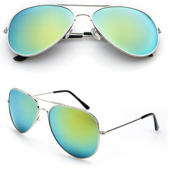 MOQ=summer woman color film sunglasses Metal sun glasses Dazzle colour goggle ladies outdoor fashion unisex adumbral