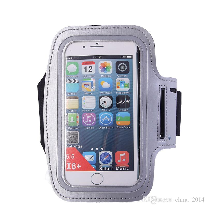 Newest! Sport Running Arm bands for iphone x 8 7 6 samsung and more Sweat-proof Arm Band Travel Accessory Case Cover