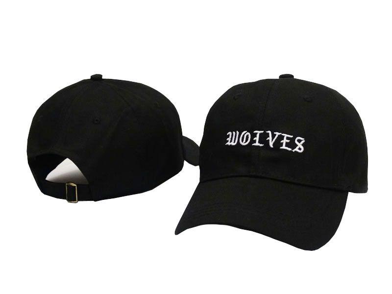 Cheap Rare Wolves Cap Hat THE Life Of Pablo Kanye West Pop Up LA NY Kim  Kardashian Merch Caps I Feel Like Pablo Polos Hats For Men Women Custom  Trucker Hats ... d7c3dcaf28e