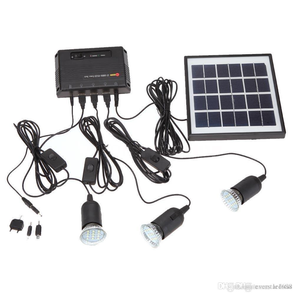 Online Cheap Outdoor Solar Power Panel Led Light Lamp Usb Charger ...