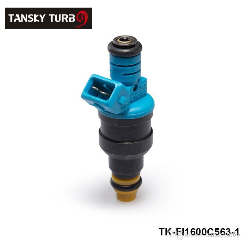 TANSKY-/ Nuevo Inyectores de combustible de alto rendimiento y baja impedancia 1600cc 160LB EV1 OEM: 0280150563 TK-FI1600C563-4