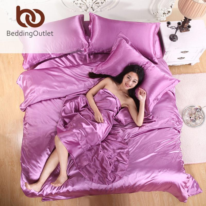 home textiles silk satin sheets coverlet and plaids bed linen set cameo brown 100 polyester silk bedding sets king size bed set white comforter sets queen