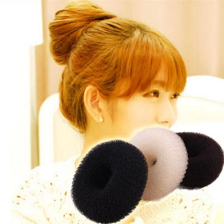 Female Hair Volumizing Scrunchie Hair Bun Cover Bun Cage Bun Wrap
