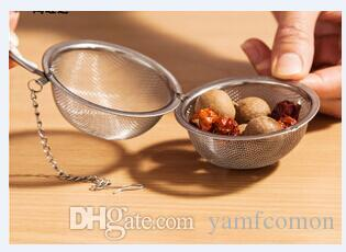 Çay Demlik Paslanmaz Çelik Çay Potu Demlik Küre Örgü Çay Süzgeç Topu Kaliteli 4.5 cm