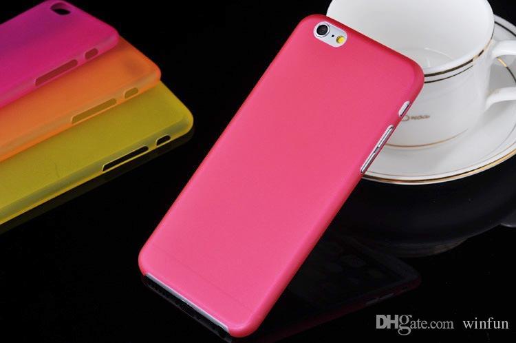Custodia protettiva in policarbonato opaco ultraleggero iPhone 6 da 4,7 pollici 500 pezzi / lotto