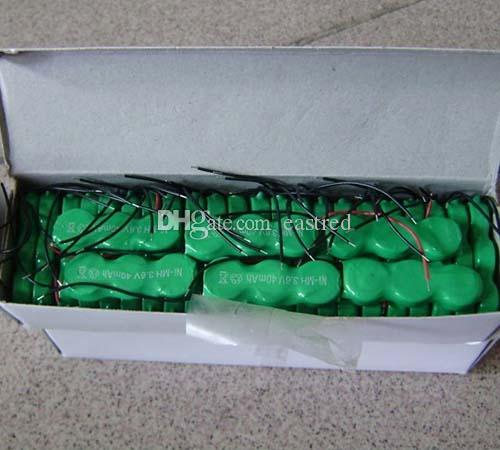 500packs /Wholesale 80YH 80mAh 3.6V rechargeable button cell battery pack NiMH battery pack
