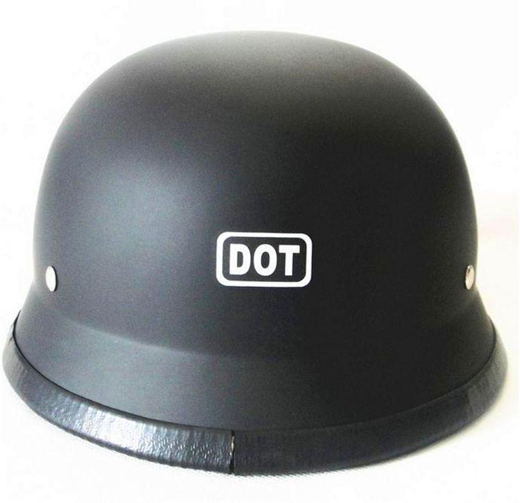 Motorcycle Helmets Dot >> Ww2 German Military Helmet Dot Motorcycle Helmets Vintage Chopper Cruiser Abs Helmets For Harley ...