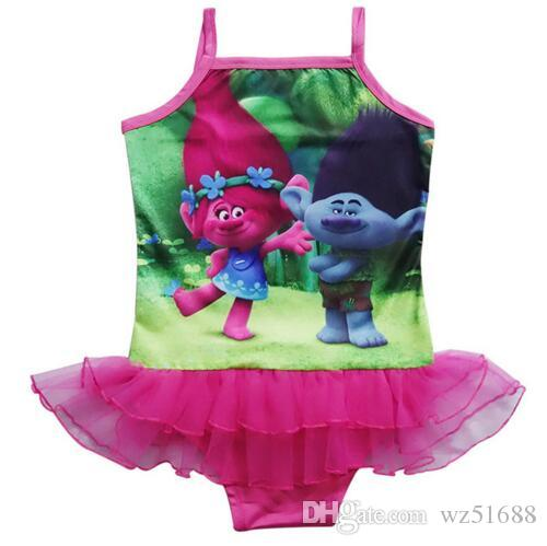 c9609ea8c5 2019 2017 New Trolls Baby Girls Summer Kids Swimsuit Children Bathing Suit  Kids Girls Bikini Swim Suit Bathers From Wz51688, $8.05 | DHgate.Com