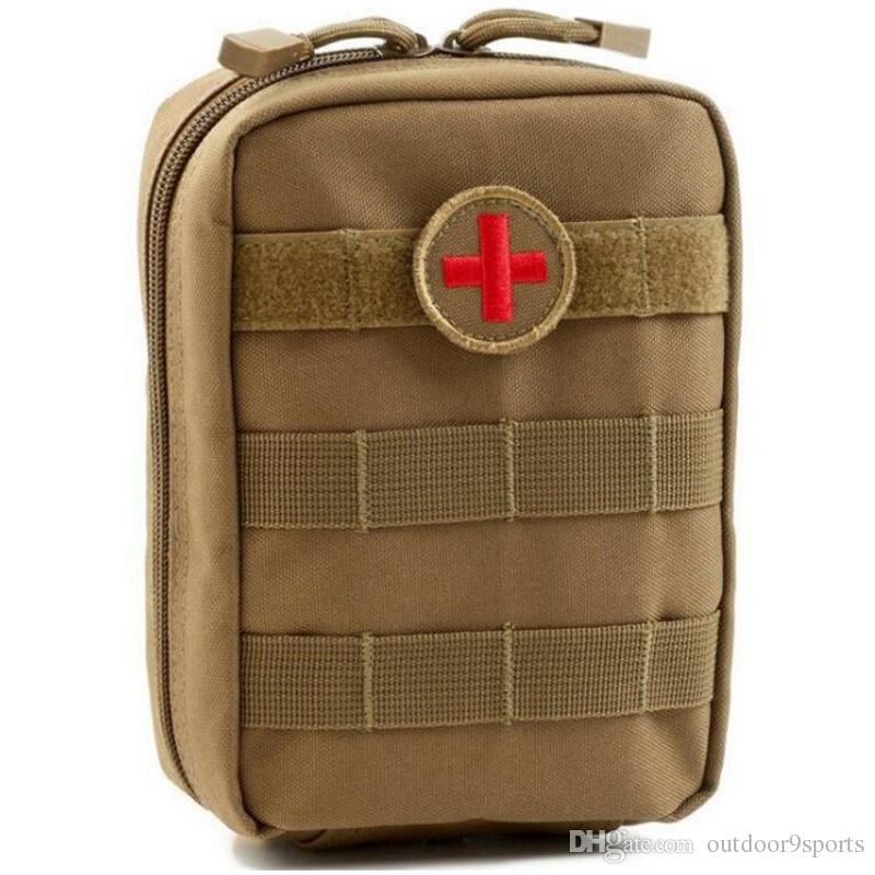 Outdoor Emergency Bag Tactical Medical First Aid Kit Waist Package Camping Traveling Tactical Medical Storage Bags