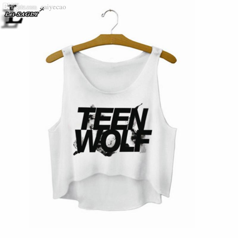 1f4d3adca0402 Wholesale-Teen Wolf Crop Top Summer Style Tank Top Women Tops Cheap Clothes  China Cropped Fashion Mujer Sport Camisole F722 F722 Cheap F722 Online with  ...