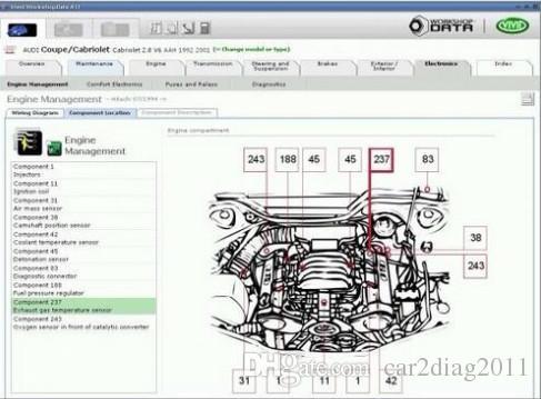 Großhandel Software Vivid Workshop 10.20 Wartung, Service Manual ...