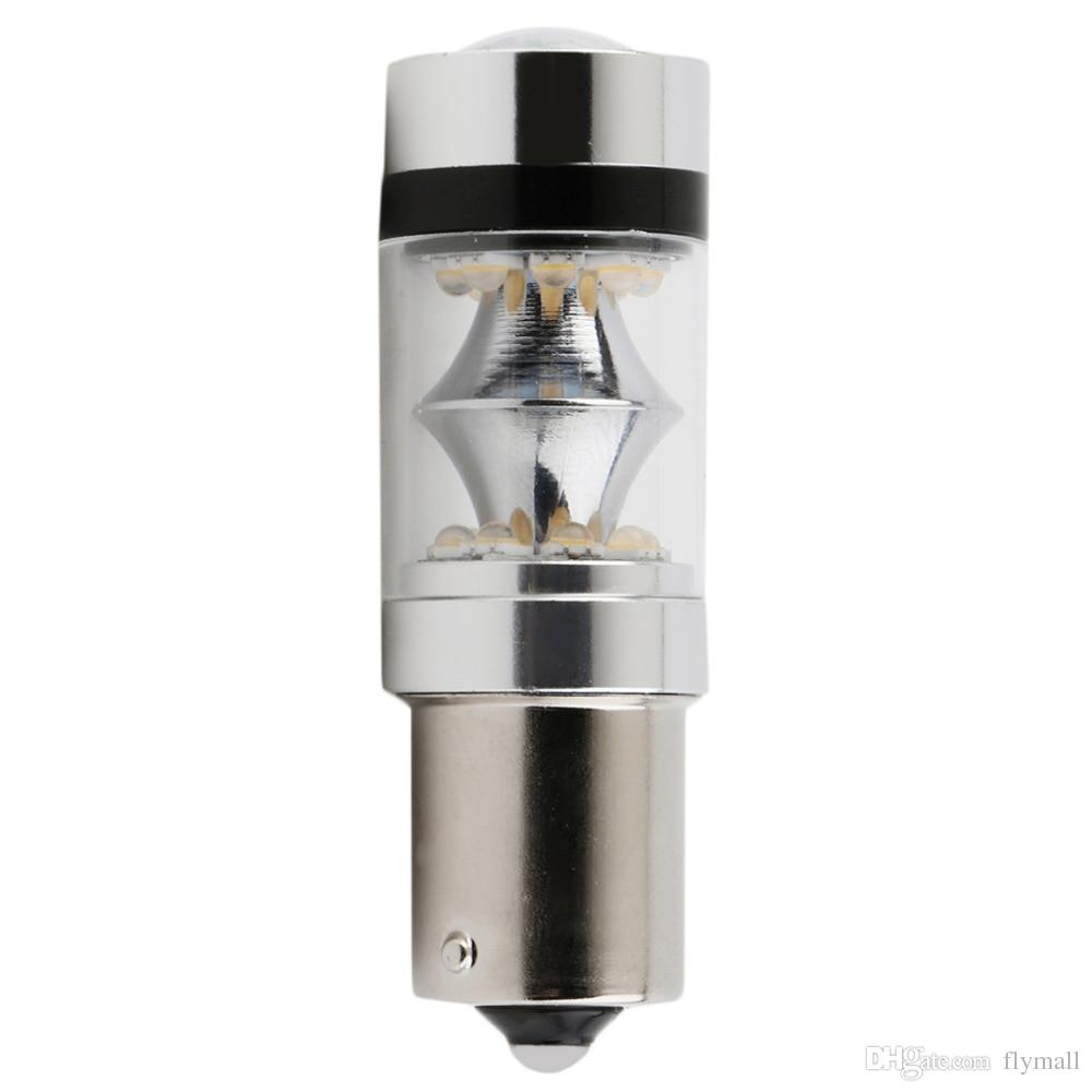 High Bright 100W 1000LM CREE lampadina freno della coda giro di ritorno del segnale chiaro 1156 BA15S fendinebbia P21W 1156 1157 7440 3156 20 SMD lampadine