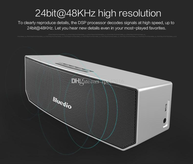 Buy Buy Buy Bluedio Bluedio BS-3 Camel Portable Bluetooth speaker wireless Subwoofer Soundbar Revolution Magnetic driver 3D stereo music w