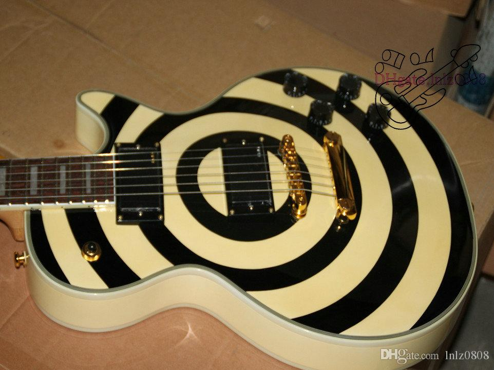 Newest Custom Shop Eye And Cream Bulls Custom Electric