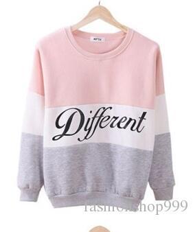 2017 herbst Winter Frauen Pullover Neue Brief Gedruckt Frauen Pullover Tops Sweat Shirt Bluse Pullover Dicke Trainingsanzüge Sudaderas