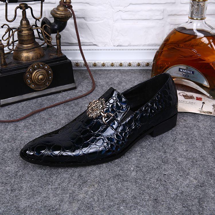 리벳 2016 웨딩 드레스 새로운 도착 남성 신발, 남성 가죽 신발 무료 댄스 파티