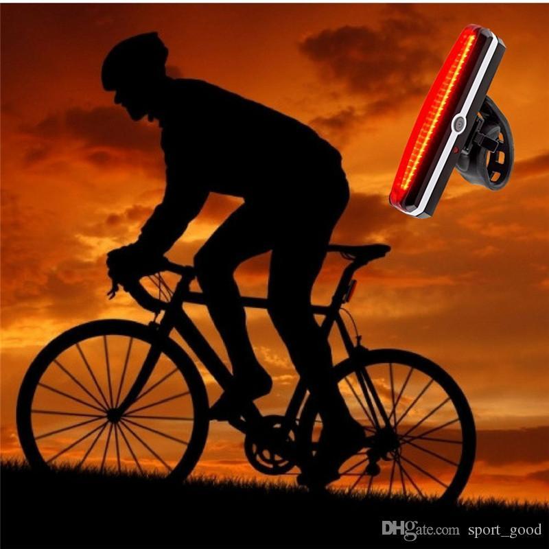 Fahrradrücklichter Fahrradzubehör Warnleuchten USB-Rücklichter Mountainbike-Rücklichter markieren Warnlichter