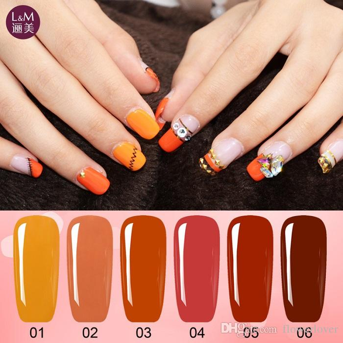 2017 New Classic Pumpkin Color Gelish Nail Gel Polish ...