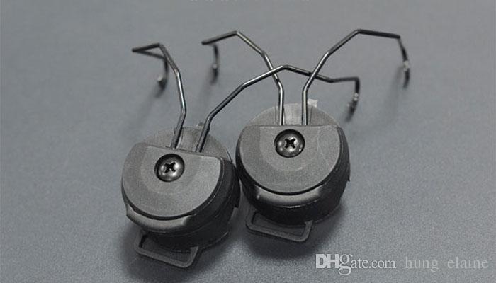 Tactical Capacete Acessórios Sordin Tipo Headset Holder Fast Capacete Rail Adaptador Peltor MSA SORDIN Headset Ops-Core Capacete Adaptador Rail ARC