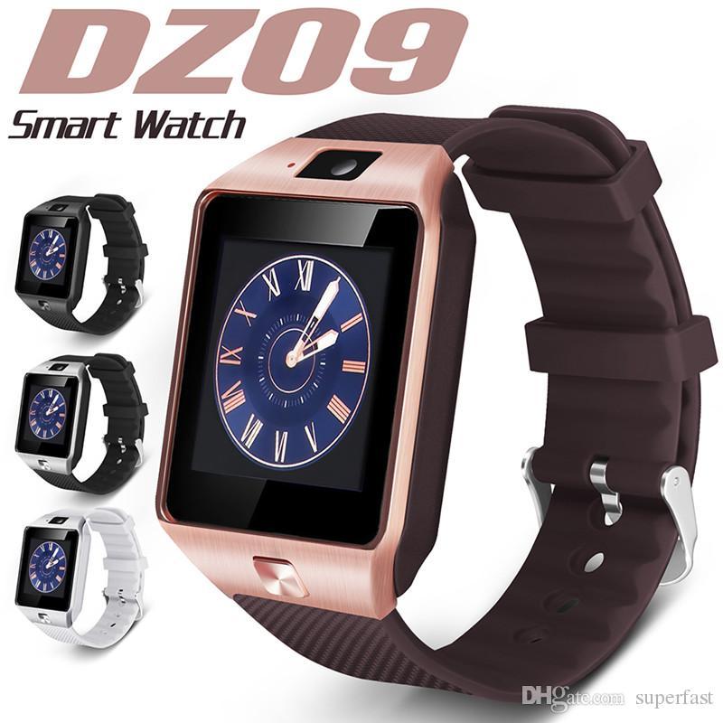 cf3a95c2cfc Dz09 smart watch dz09 bluetooth relógios inteligentes android smartwatches  sim inteligente relógio do telefone móvel com lembrete sedentária resposta  ...