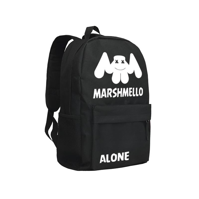b4e7e71ce5 Marshmello Backpack For Teenagers Boys And Girls School Bag DJ Alone  Marshmello Bookbag Laptop Shoulder Bags Girls Backpacks Drawstring Backpack  From ...