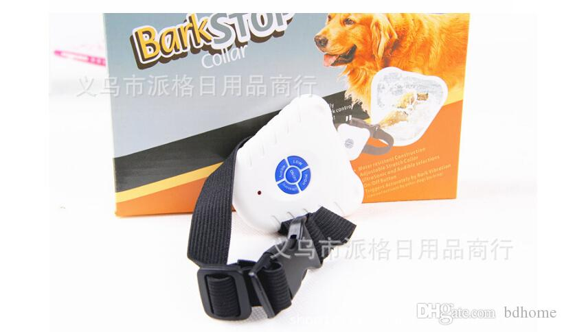 Partihandel - 2016 Ny mode Ultrasonic Anti Bark Dog Stop Barking Collar Gratis frakt