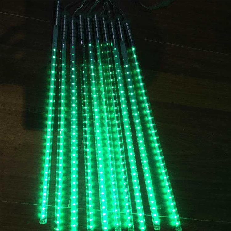 Meteor LED lights 800mm Fairy Garden LED luci fata Meteor LED insegne al neon IP65 all'aperto utilizzando