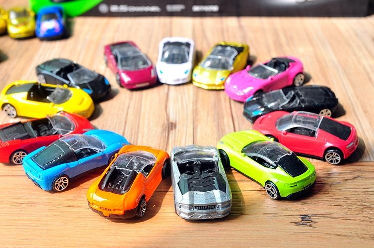 2017 alloy car model mini car toys taxi racing bicycles sports cars food trucks high simulation kid gifts collecting home decoration from